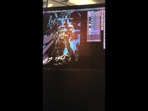 Alex Sinclair Color Demo DC Booth SDCC 2015 Part 1 of 2