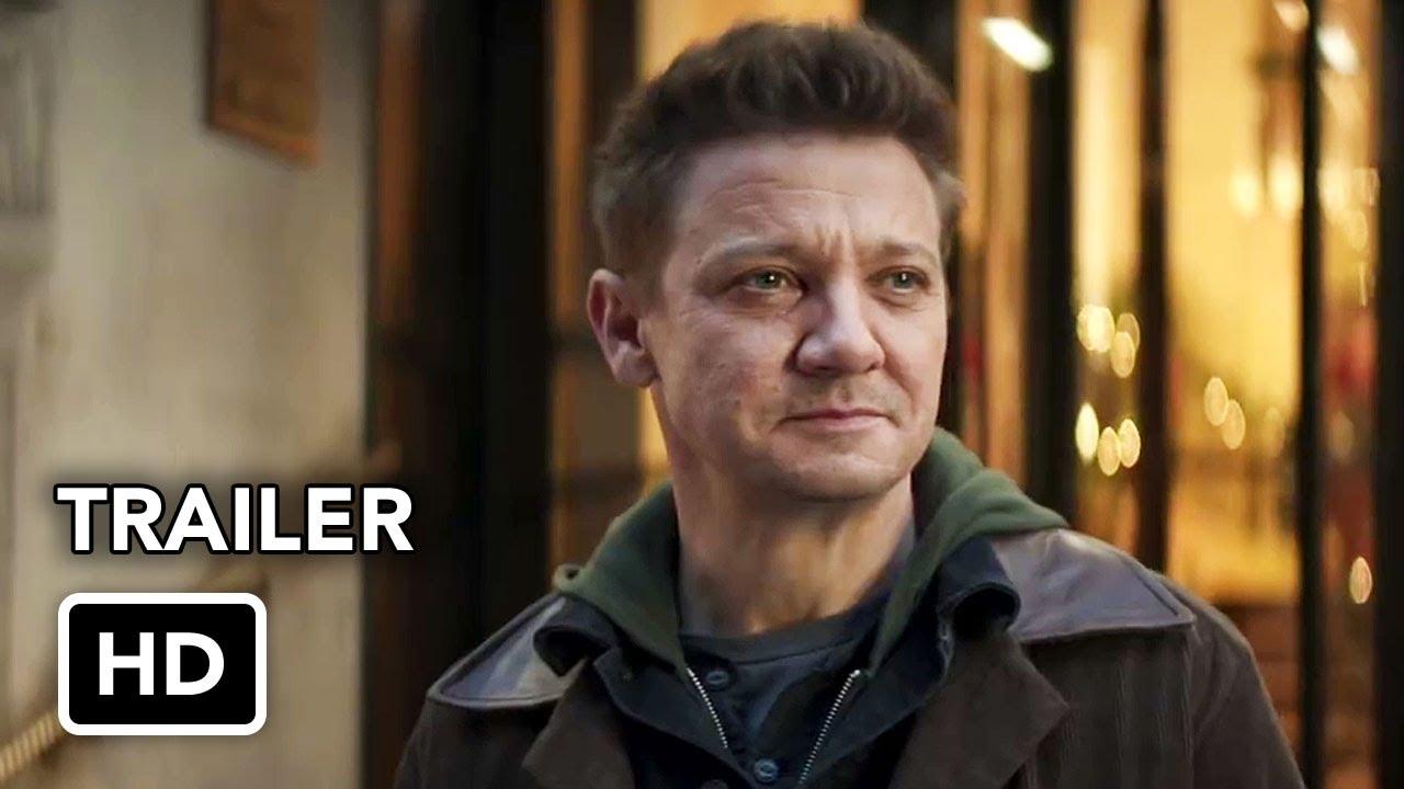 Marvel's Hawkeye (Disney+) Trailer HD - Jeremy Renner, Hailee Steinfeld superhero series