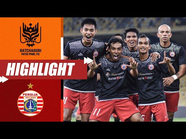 RATCAHBURI FC 1-3 PERSIJA JAKARTA   #OnThisDay 2018