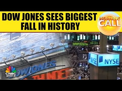 Dow Jones Sees Biggest Fall In History | Morning Call | 6th Feb |CNBC Awaaz