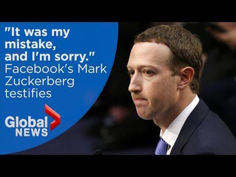 Facebook CEO Mark Zuckerberg's FULL statement to U.S. Senate committee