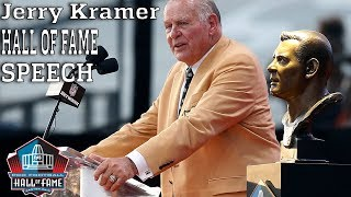 Jerry Kramer FULL Hall of Fame Speech | 2018 Pro Football Hall of Fame | NFL