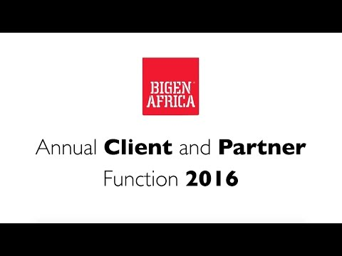 Bigen Africa Annual Event 2016