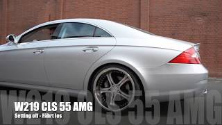 MEC Design Mercedes W219 CLS55 AMG Exhaust  - Sound Version Earthquake