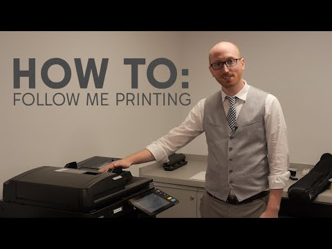 Follow Me Printing - Wentworth Institute of Technology