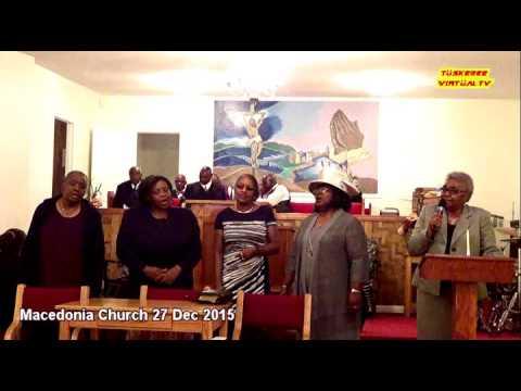 Macedonia Missionary Baptist Church 27Dec15