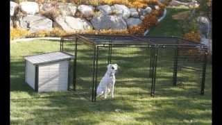 K9 Kennel Store Universal Welded Wire Dog Pen