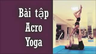 Yoga đôi | Bài tập acro yoga - Yoga đôi | Yogi Travel VN