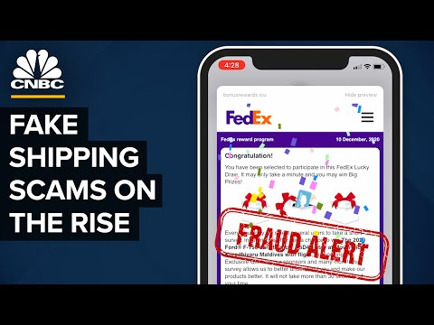 Delivery Scams Imitating Amazon, UPS, FedEx And DHL Are On The Rise