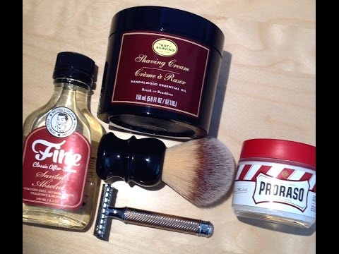 Art Of Shaving Sandalwood - Muhle R41 - RazoRock Plissoft