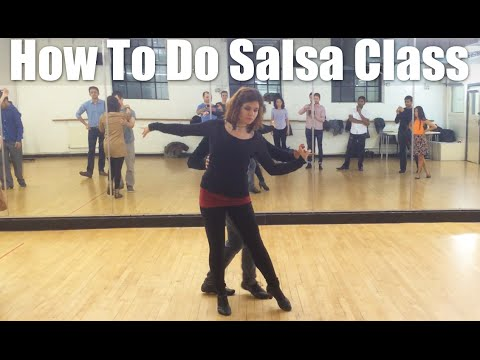 How to do Salsa Intermediate Pattern Tutorial - Adult Salsa Classes London