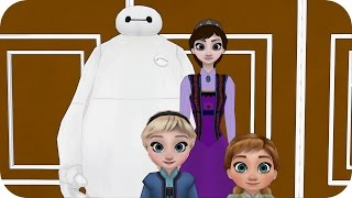 A Happy Mother's Day? Elsa & Anna Kids Episode 3 - Frozen Baymax Princess Parody