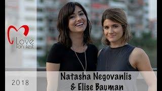 Natasha Negovanlis and Elise Bauman - LOVE Fan Fest 2018 (Interview)