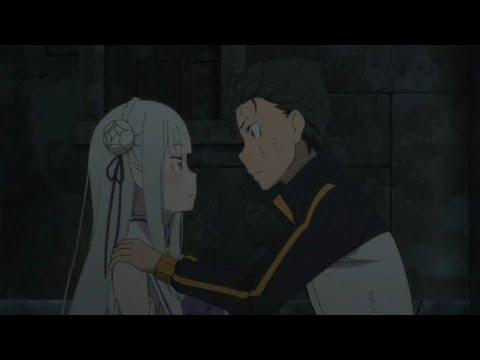 Subaru finally kisses Emillia | Rezero Season 2 part 2 Episode 2|Rezero Episode 40