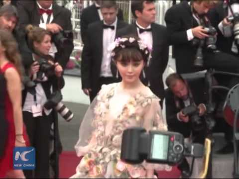 China female stars dress to impress at Cannes