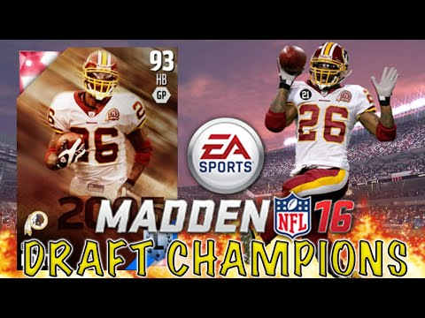 THIS GAME IS EPIC!!! - Madden 16 Ranked Draft Champions