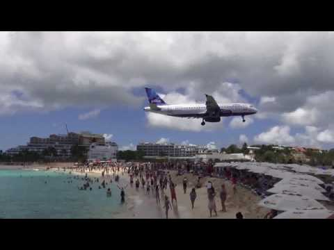 St Maarten, SXM - Princess Juliana Airport Landings/Take offs - April 2016