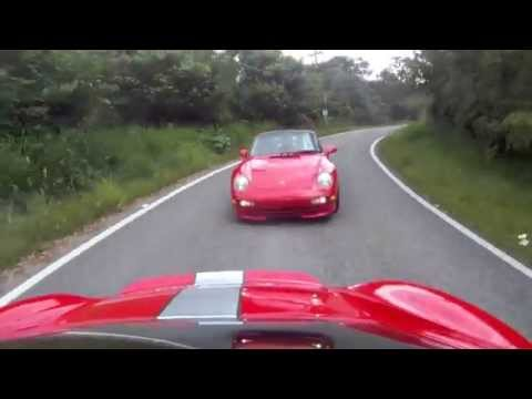 Fast Cayman Turbo @ PCA Mt. Rally in Puerto Rico