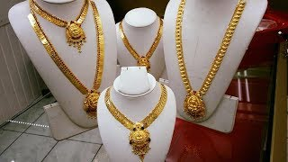 New Designs Long Gold Haram Collections