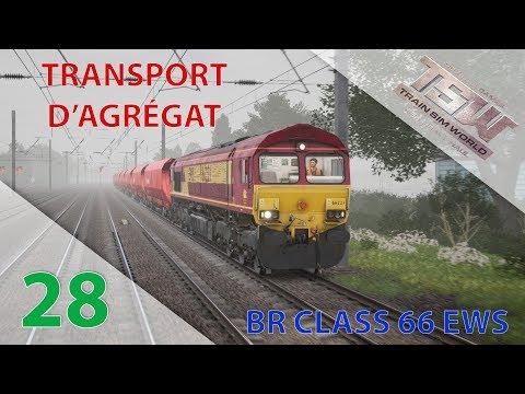 [Train Sim World] [GWE] Episode n°28 : Transport d'agrégat en BR Class 66