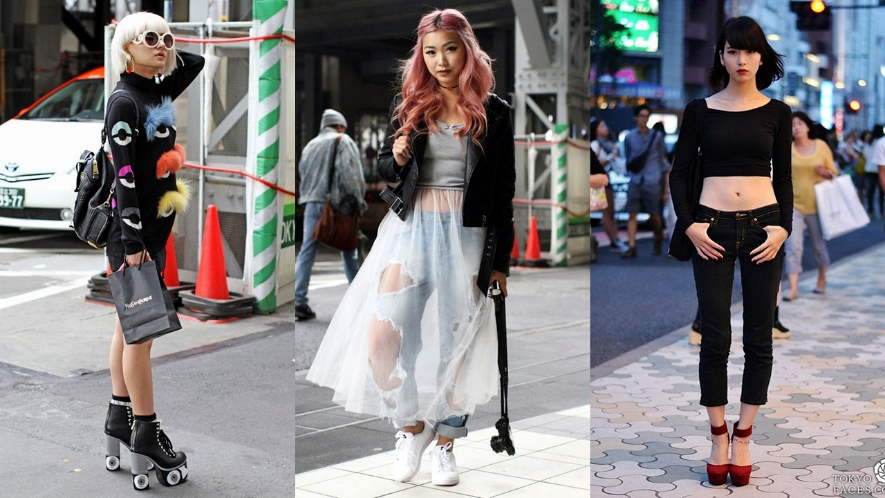 40 best outfits from tokyo street fashion youtube Yes style japanese fashion