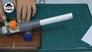 Cara Membuat Meriam Mini dari Pralon (benar-benar meledak!)