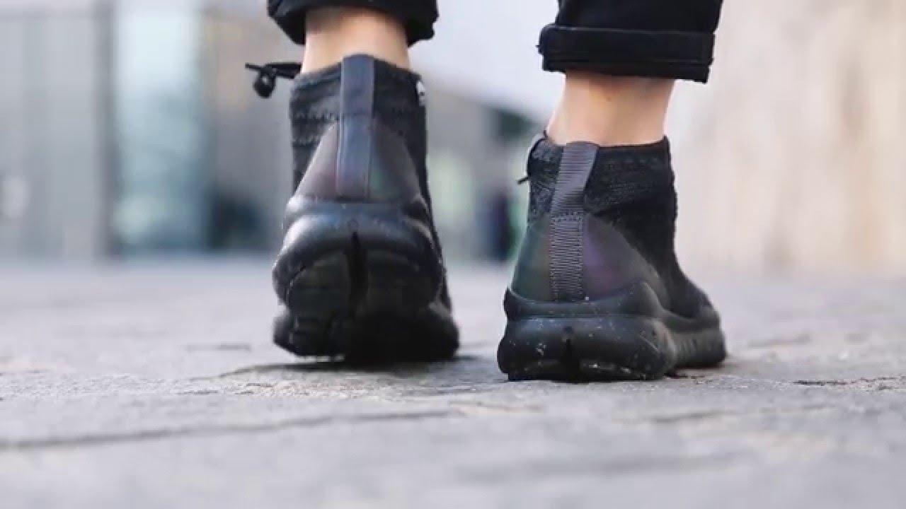 414b7f72a841 Nike Flyknit Trainer Chukka Sneakerboot   TINT Footwear Studio - YouTube