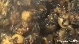 How to Cook Afang Soup with dry afang leaves   Nigerian Food Recipes