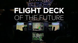 Take off in the cockpit of the future