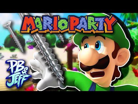 YOU GOTTA SCREW! - Mario Party 1 Tropical Island (Part 1)