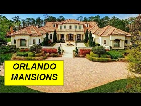 Million Dollar Mansions and Listings for sale in Orlando