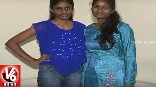 Programmable LED T-Shirts Now Available In Hyderabad City | Broadcast Company | V6 News