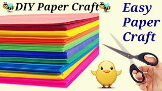 Paper craft-Easy and creative summer Camp Activities for kids|paper art|DIY Fun Idea-rainy day craft