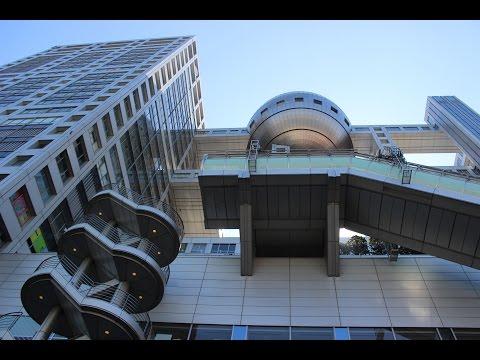 Fuji TV Building - Odaiba - Tokyo, Japan