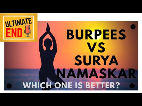 burpees vs surya namaskarsun salutation  which one is