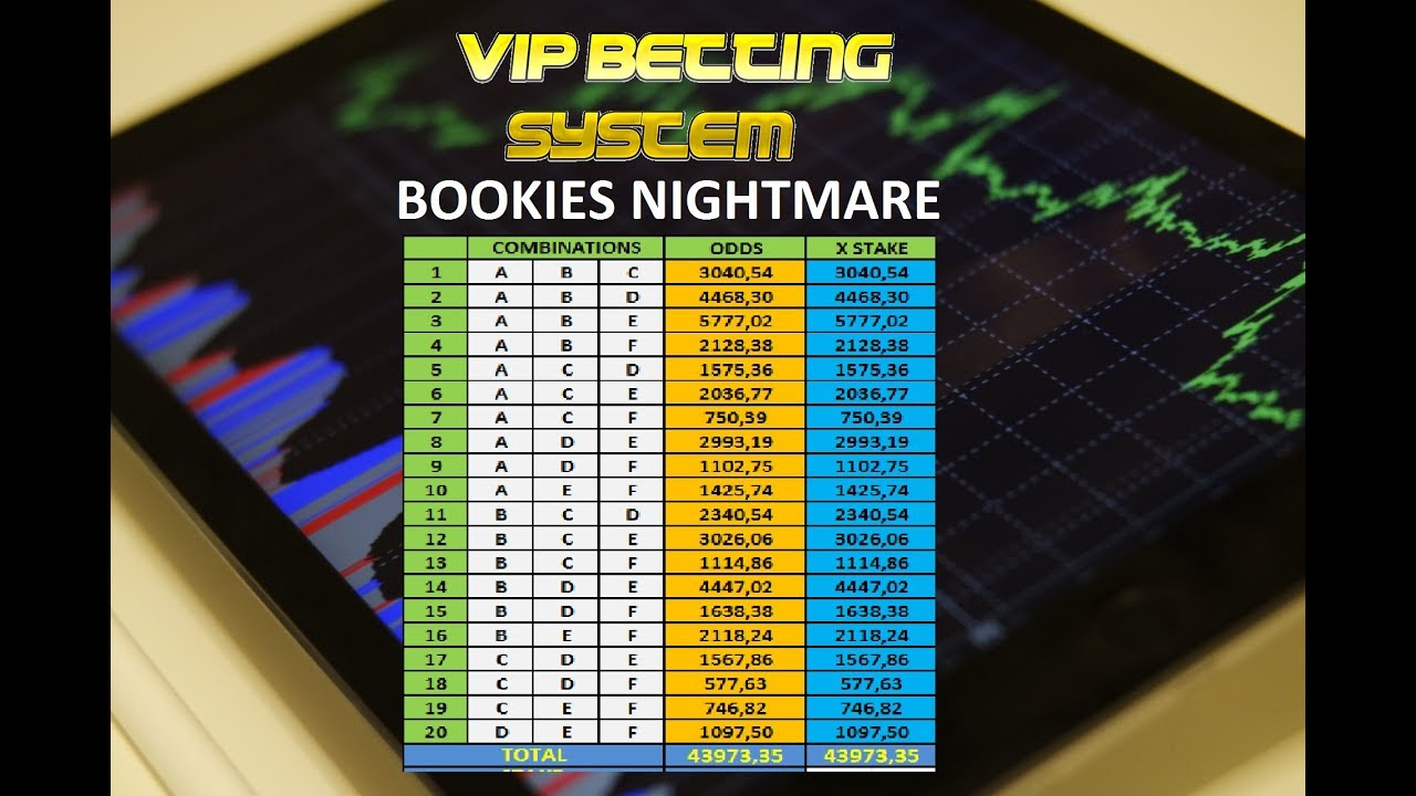 Bookie betting system betting world branches of psychology