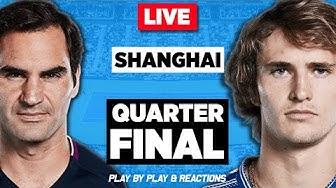 🔴 FEDERER vs ZVEREV | Shanghai Masters 2019 | LIVE Tennis Stream Play-by-Play