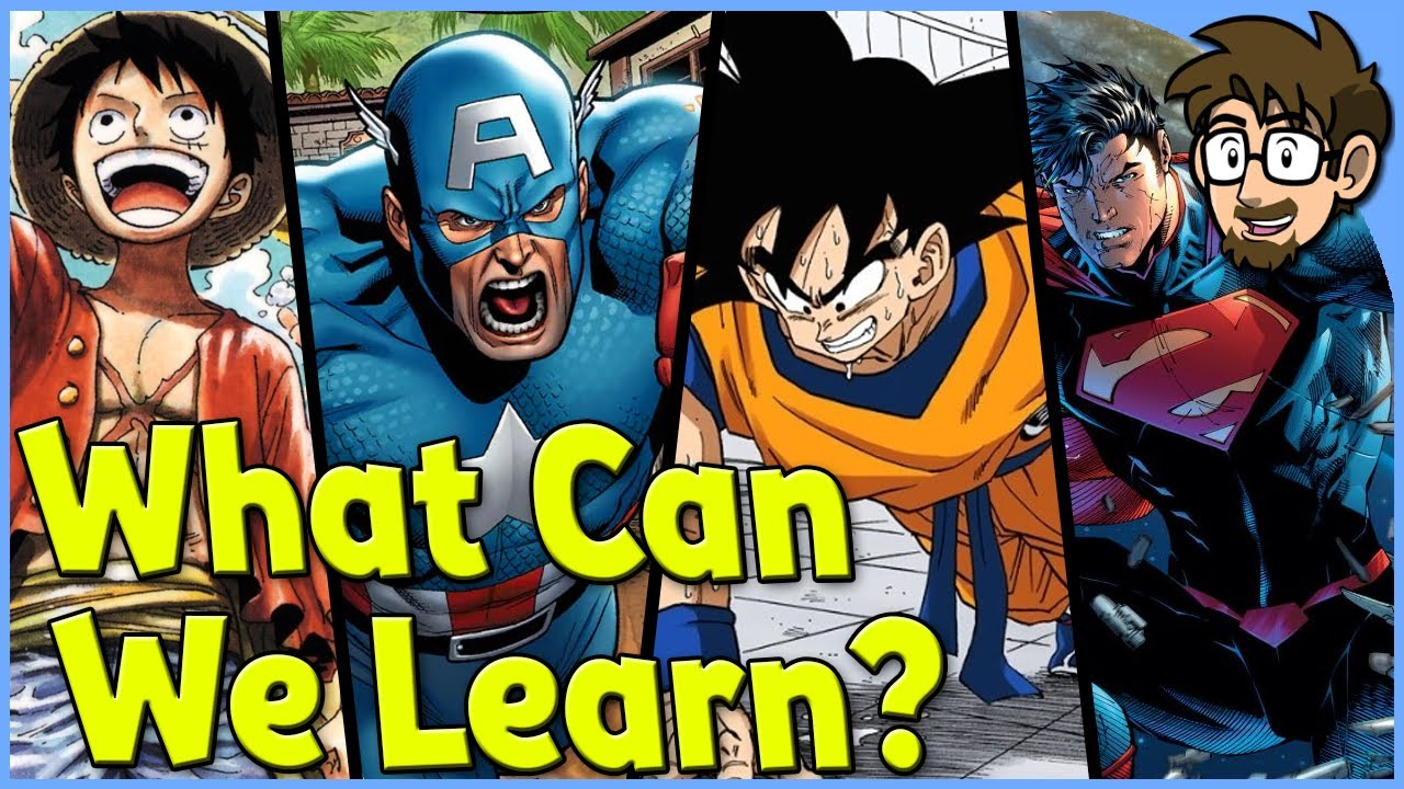 What Can Comics Learn From Manga?