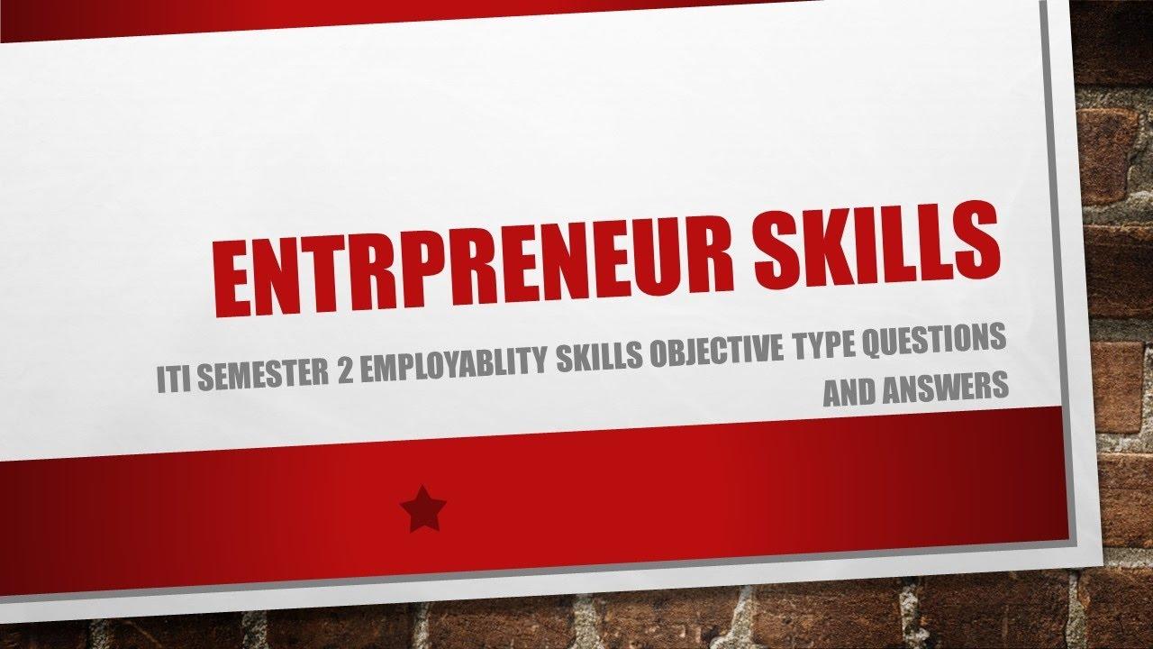 iti employability skills questions and answers pdf