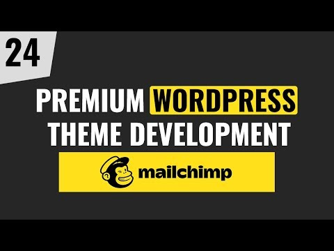 Premium WordPress Theme Development Tutorial 2019 | Part 24 thumbnail