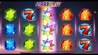 Machine à sous STARBURST avec bonus respin.