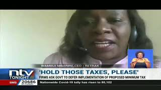 Firms ask govt to defer implementation of proposed minimum tax