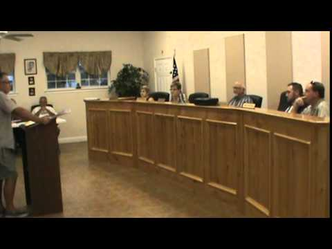 China Grove, Texas (WCN) Council (1 of 3) 10/02/2014