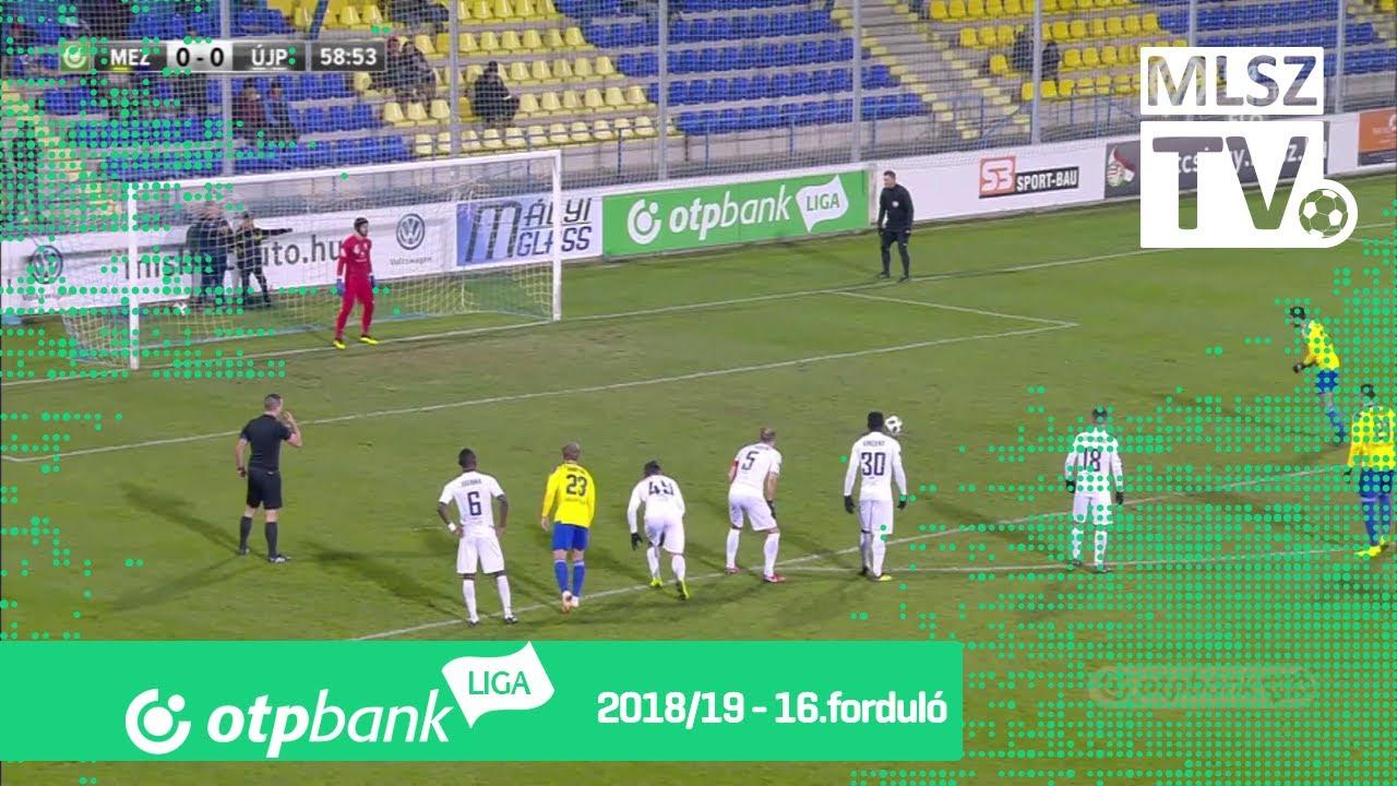Mezőkövesd Zsóry FC – Újpest FC | 0-0 | (0-0) | OTP Bank Liga | 16. forduló | MLSZTV