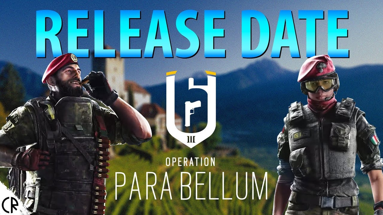 Rainbow six release date in Perth