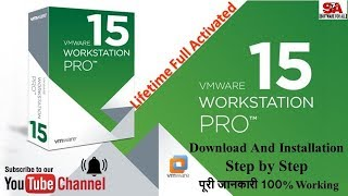 Gambar cover VMware Workstation Pro 15 0 2 | {FULL ACTIVATED} + Key | 100% Working | IN HINDI