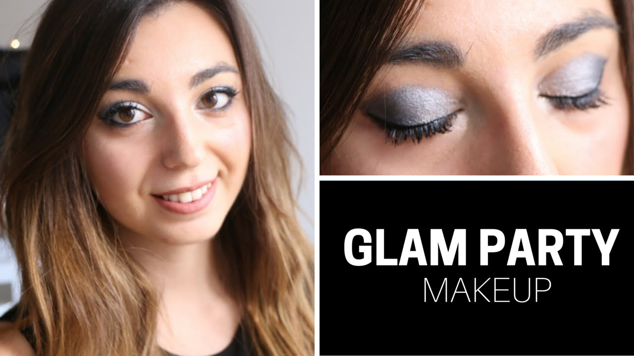 Glam Party Makeup Tutorial | CLARA MATSE - YouTube