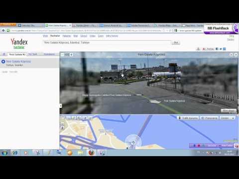 Yandex Haritalar Panaroma Nasıl Kullanılır - Videolu Anlatım.flv