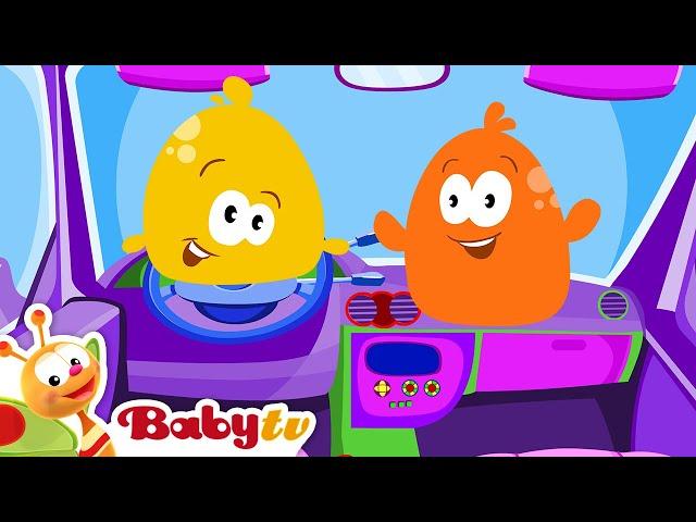 Pitch and Potch | Toy Car | BabyTV