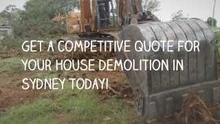 House Demolition Company Sydney